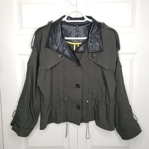 Walter Baker khaki green color jacket